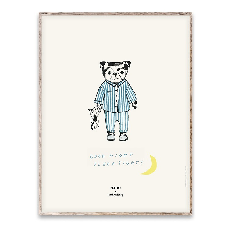 Nett: Poster Sleep Tight 30x40 cm