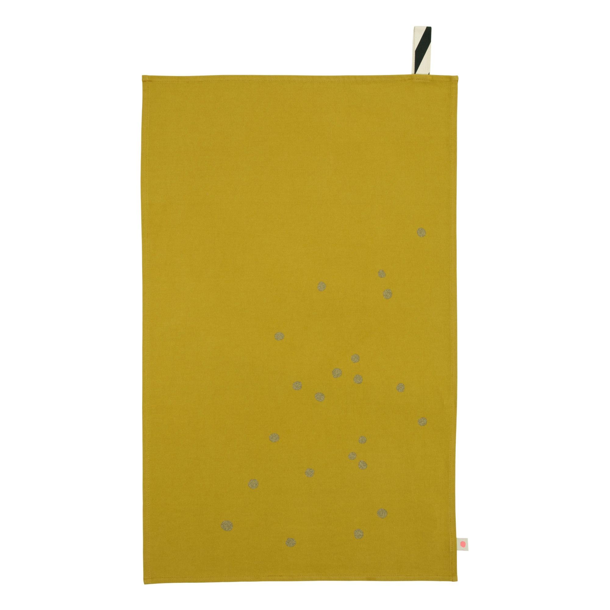 Image of Strofinaccio a pois oro