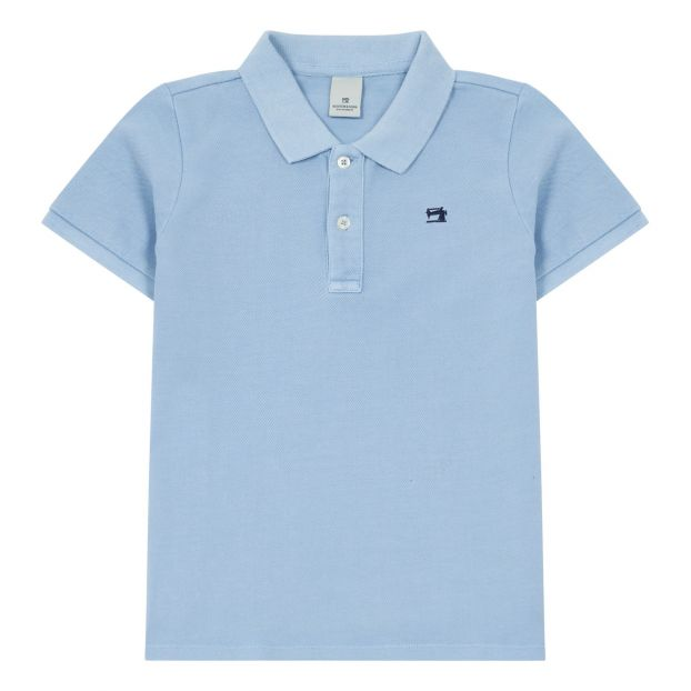 1e1ebf63d Polo shirt Light Blue Scotch   Soda Fashion Teen