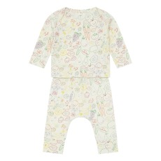 product-Stella McCartney Kids T-Shirt + Legging Coton Bio Fruits & Veg