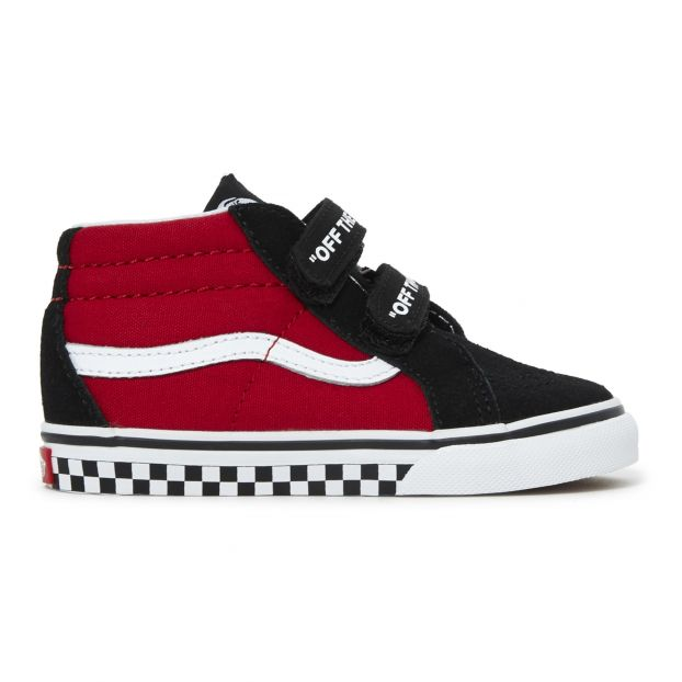 SK8-Mid T Suede rainers Red Vans Shoes Baby  7bf0eaf6e2