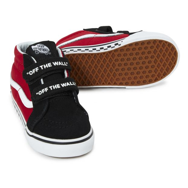 0b7c9b08e0 SK8-Mid T Suede rainers Red Vans Shoes Baby