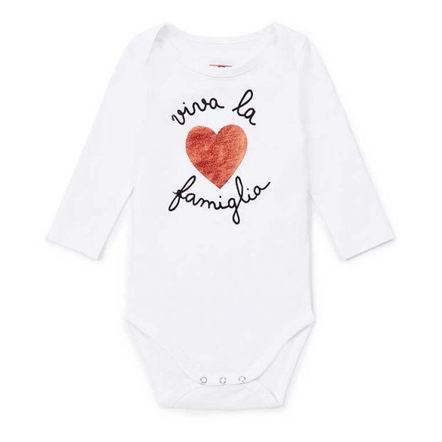 3cdc5e1e8 Tiu organic cotton baby grow White Bonton Fashion Baby