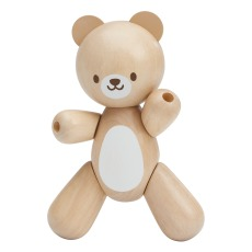 product-Plan Toys Wooden jointed teddy bear