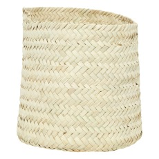 product-Cosydar Round Palm Leaf Basket