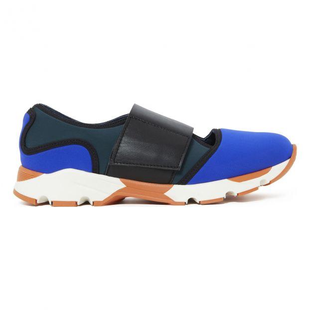 Multicolor Velcro Trainers Blue Marni