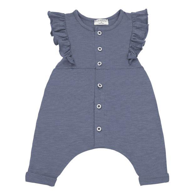 2f2e4bd843d4 Ainara Romper Indigo blue 1+ in the family Fashion Baby