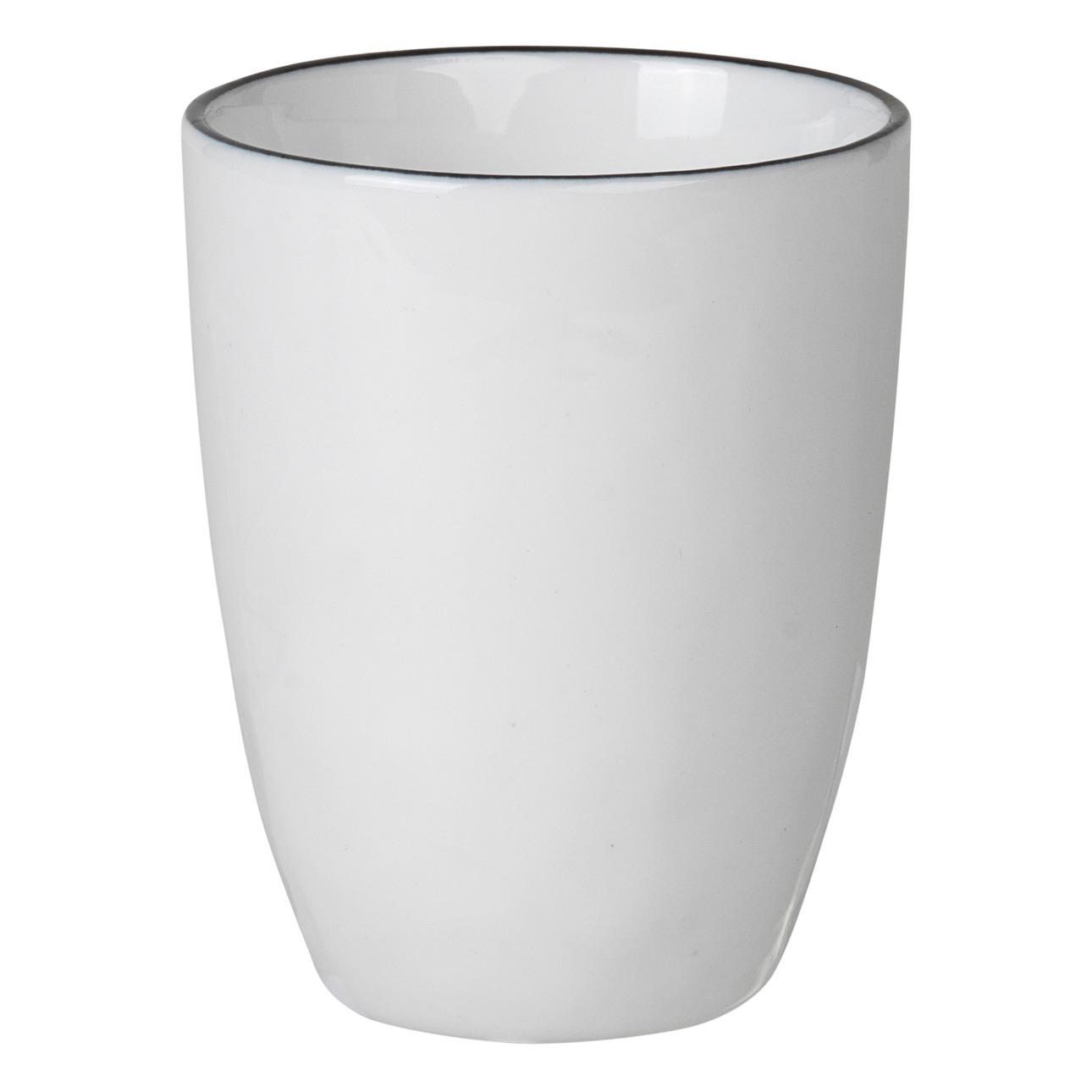 Espresso Tassen aus Porzellan Salt  20er Set Broste Copenhagen
