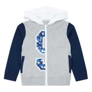 f8fe937f065b7 Stella McCartney Kids Sweat Zippé Coton Bio - Collection Sport --listing