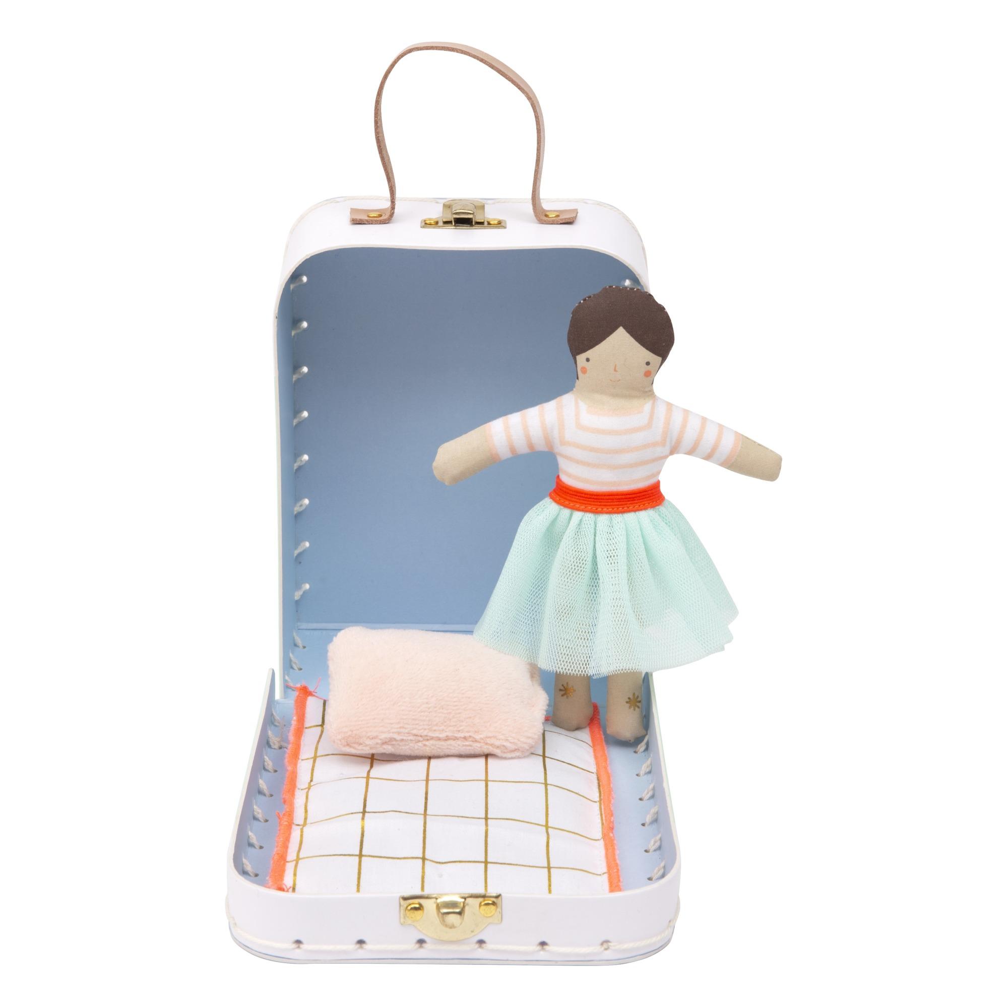 Valise avec poupée Lila