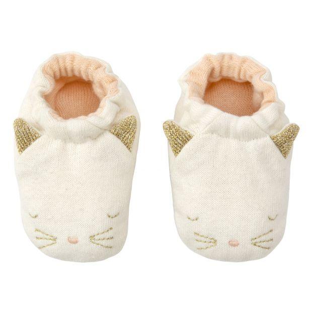 Sortenstile von 2019 Sonderrabatt autorisierte Website Babyschuhe Katze aus Bio-Baumwolle