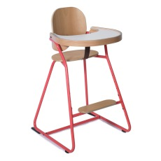 product-Charlie Crane TIBU Adaptive High Chair (table top + leather crotch strap included)