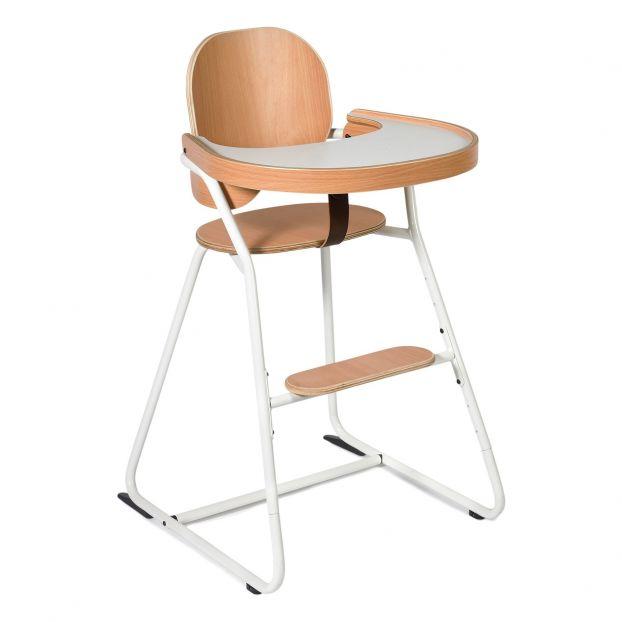 Chaise Haute Evolutive Avec Tablette Tibu Structure Metal Et
