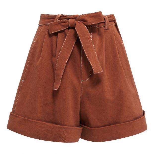 ac01fac38a3 High-waist Short Terracotta See by Chloé Fashion Adult