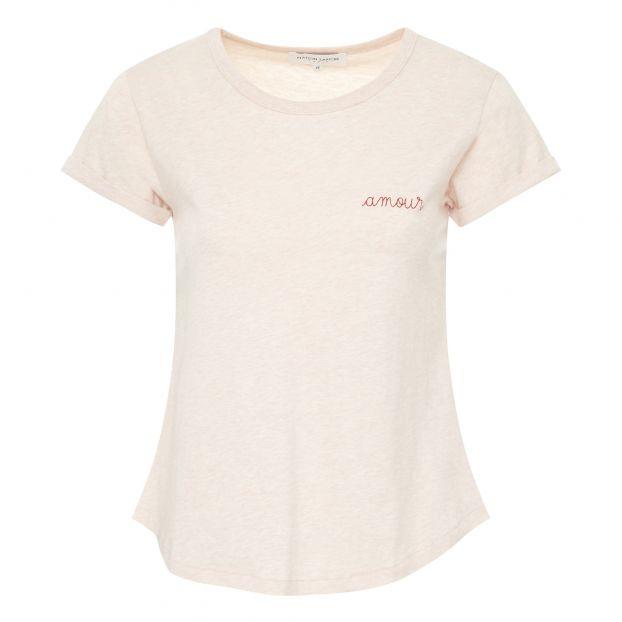 fe6ab9be74 Amour T-shirt - Women's Collection - Pale pink Maison Labiche