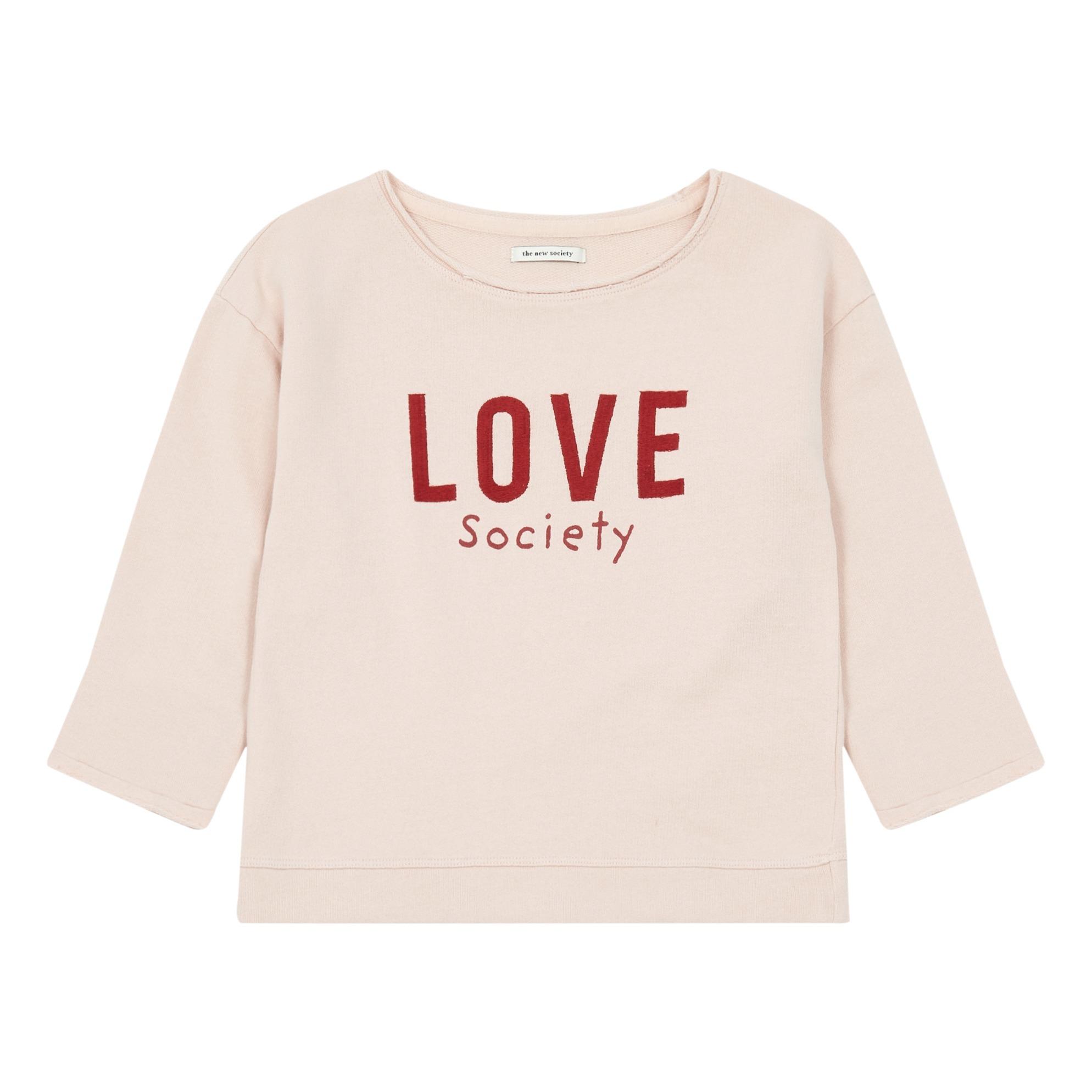 Sweatshirt Love Bio-Baumwolle Offer 4689