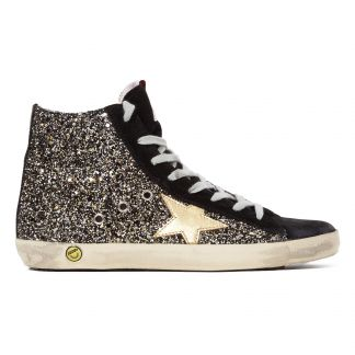 f63a4c766 Golden Goose Deluxe Brand Francy Glitter Leather Trainers-listing
