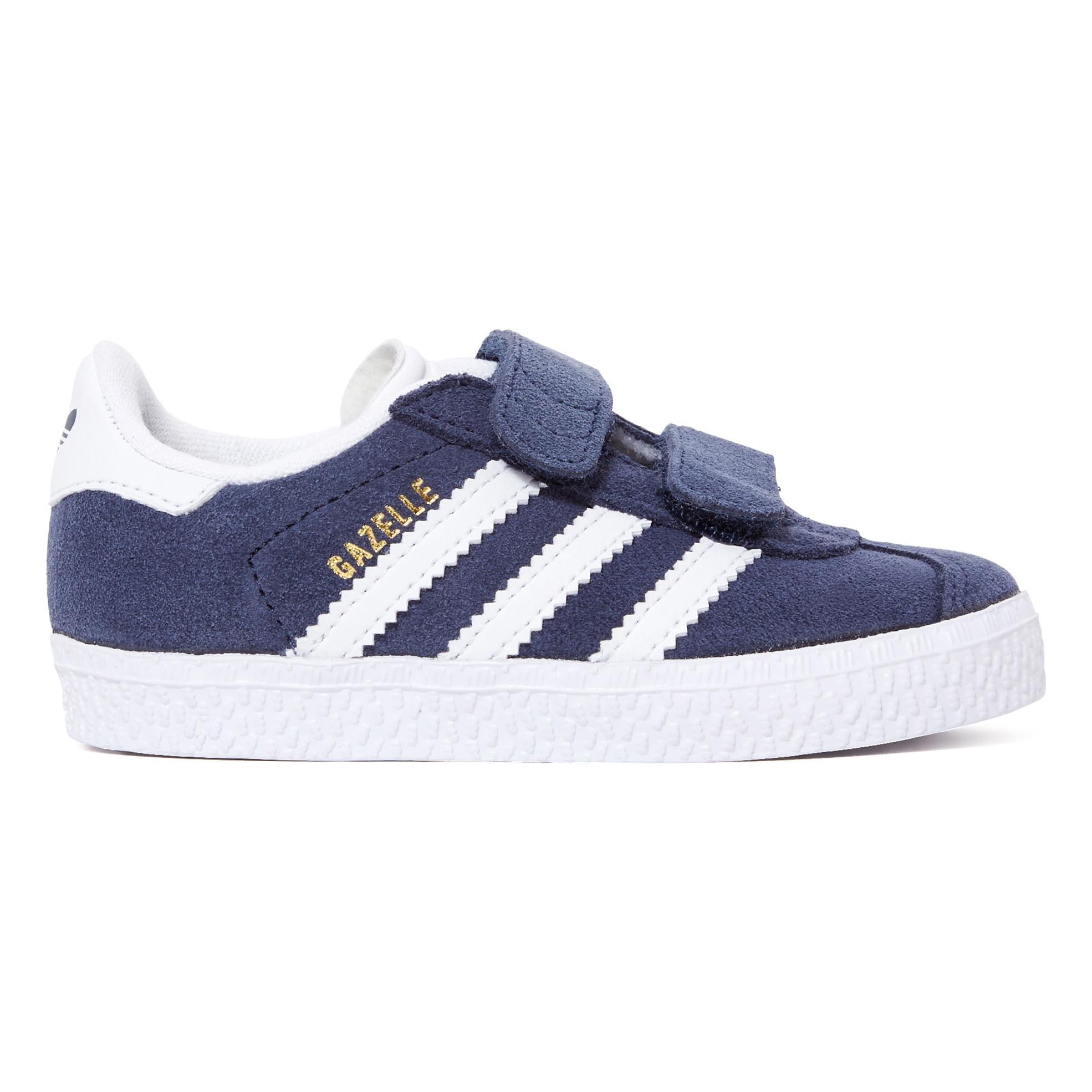 Baskets Scratchs Suède Gazelle Bleu marine Adidas Chaussure