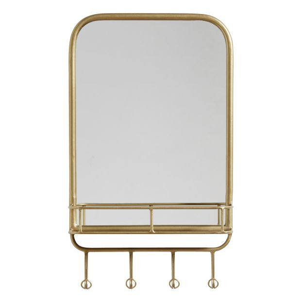Mirror With Shelf Hooks Smallable