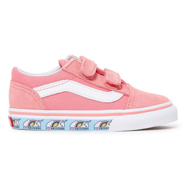 b6ce4e03f74c Old Skool Suede Unicorn Trainers Pink Vans Shoes Baby