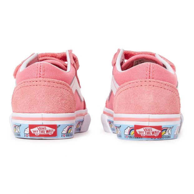 8883b54b8 Old Skool Suede Unicorn Trainers Pink Vans Shoes Baby , Children