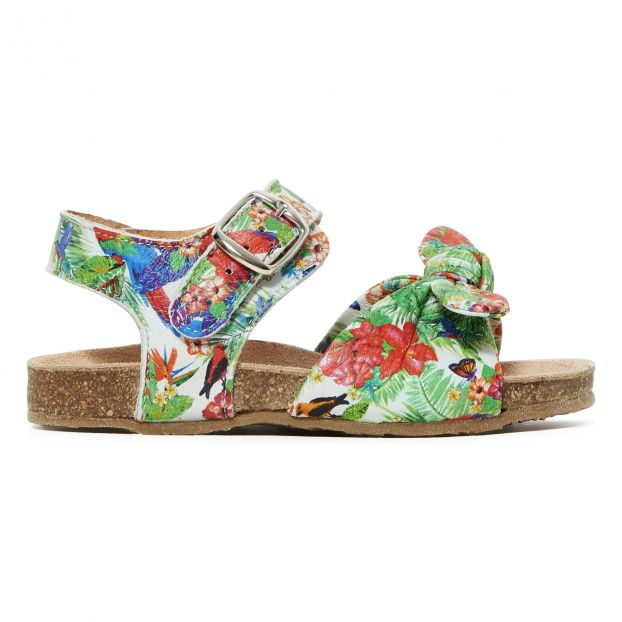 e6c5322c83d9b Tropical sandals Green Pèpè Shoes Baby