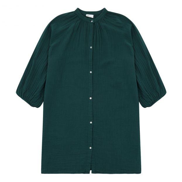 ea1f4fc6942 Pretty Python dress Emerald green Maed For Mini Fashion Children