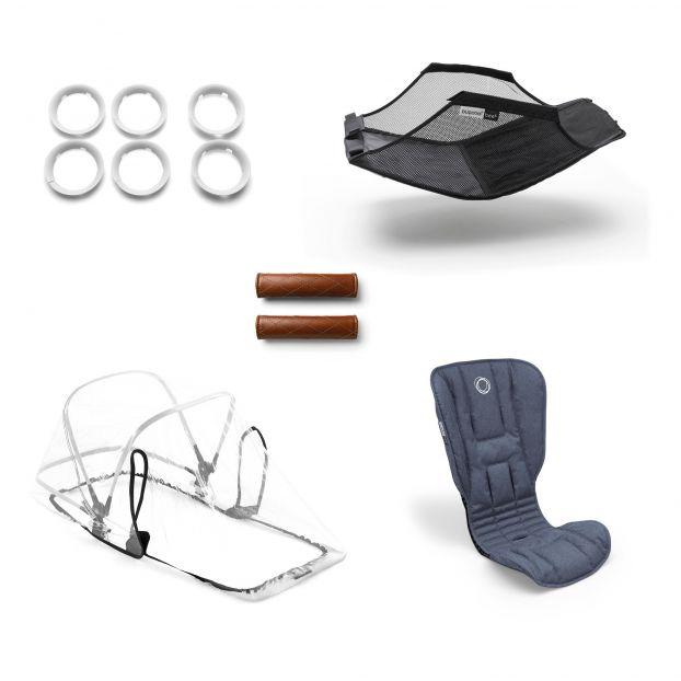 Cochecito completo evolutivo BEE5 chasis de aluminio