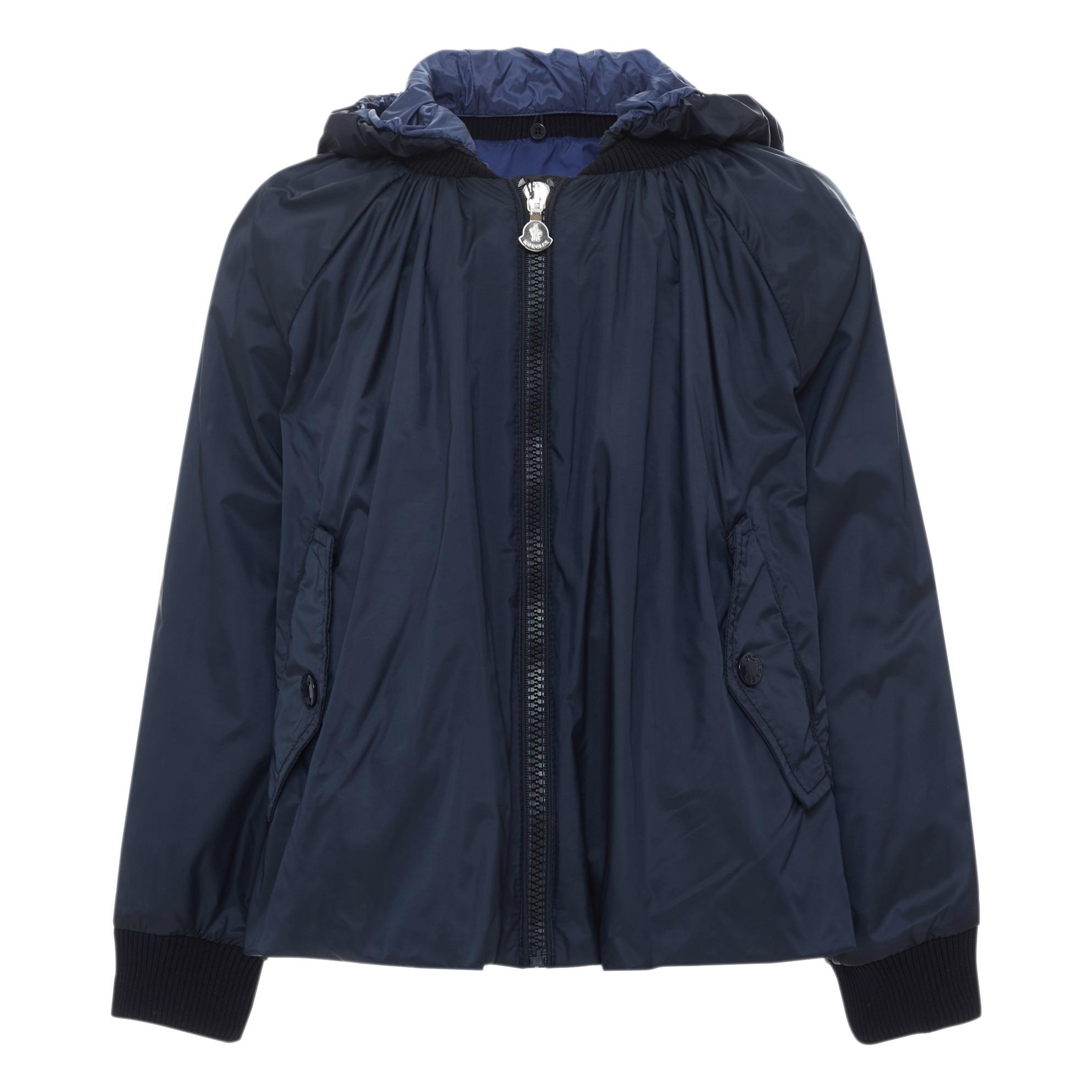 9e51e4186 Amman hooded jacket Midnight blue Moncler Fashion Teen , Children. «