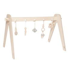 product-Loullou First play baby gym - wooden