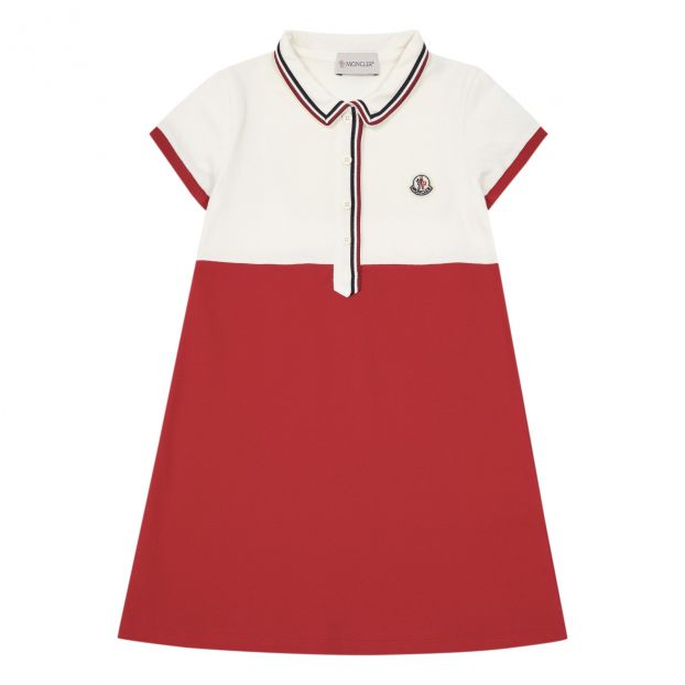 size 40 1a3fa 43409 Vestito Polo Bianco