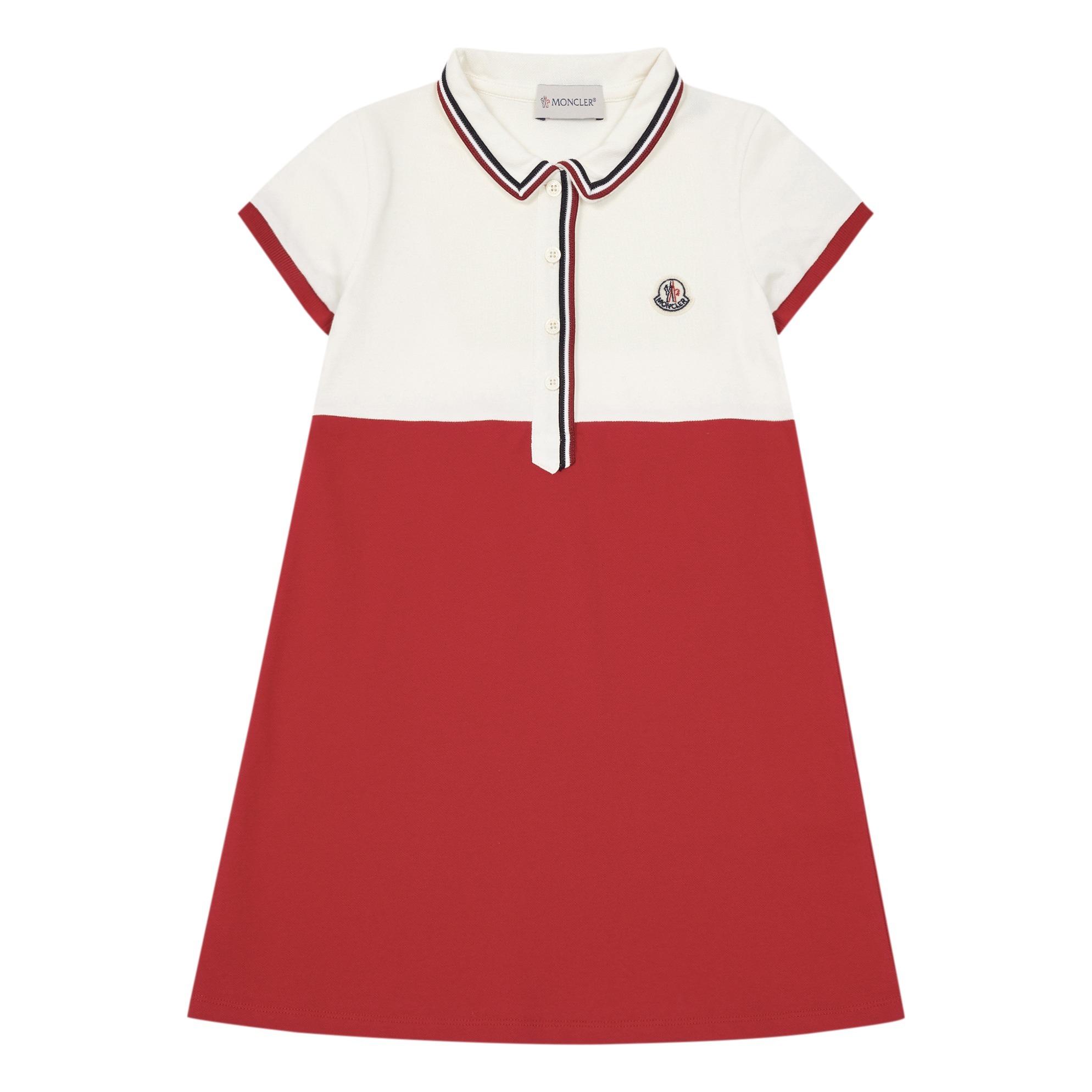 d245f11d2 Abito polo dress White Moncler Fashion Teen , Children