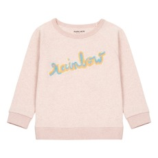 product-Maison Labiche Sweat Brodé Rainbow