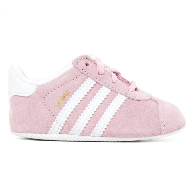 957942f7ba2 Patucos Gazelle Crib Rosa Adidas Calzado Bebé