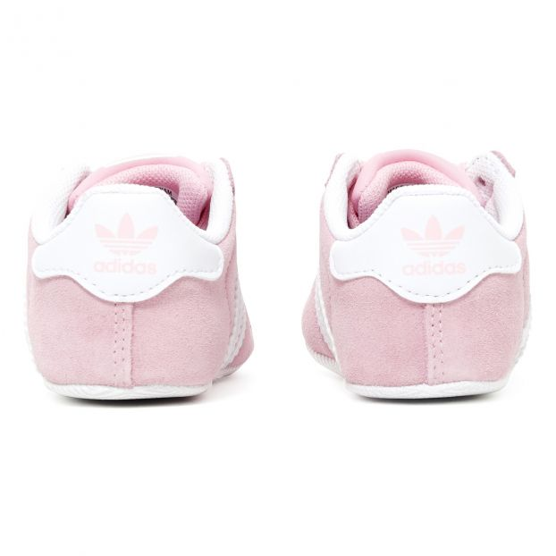 Babyschuhe Gazelle Crib Rosa Adidas Schuh Baby