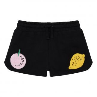 0e36ebc0359 Stella McCartney Kids Fruit organic cotton felt shorts-listing