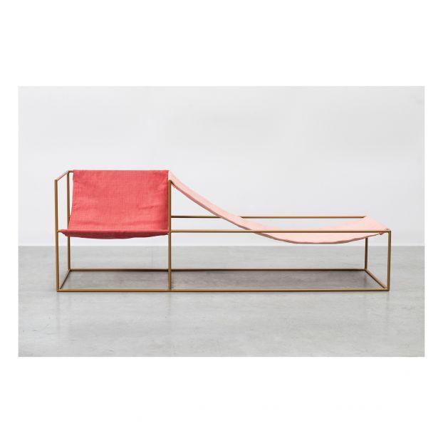 Poltrona In Lino Doppia Seduta Valerie Objects Design Adulto