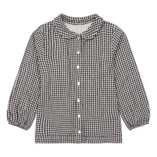 product-Poudre Organic Capucine gingham blouse