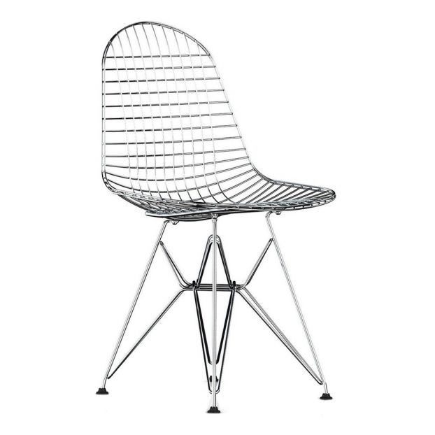 Sedia Design Eames.Wire Chair Drk Charles Ray Eames 1951