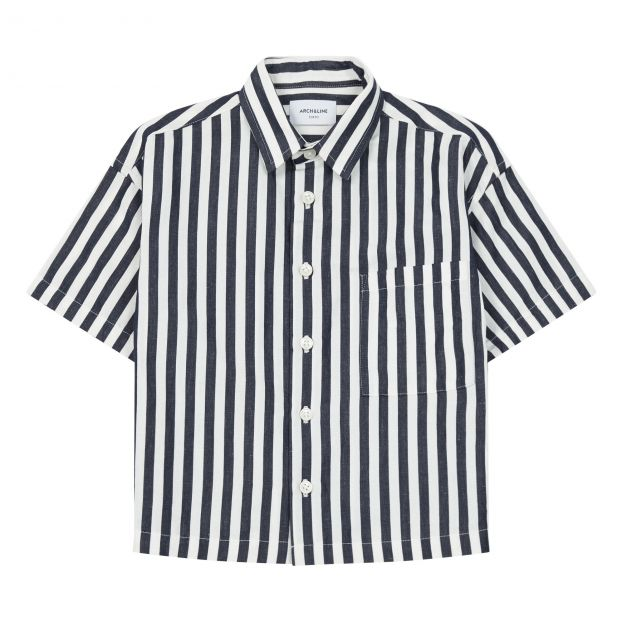 51bbba2111 Shirt Navy blue ARCH & LINE Fashion Children