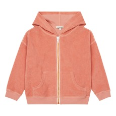 product-Caramel Anemone terry cloth sweatshirt