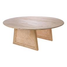 product-HKliving Table basse en cannage