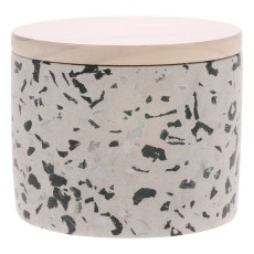 product-HKliving Bougie Terrazzo - Noix de coco