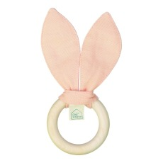 product-Petit Picotin Rattle/ teething ring in washed linen