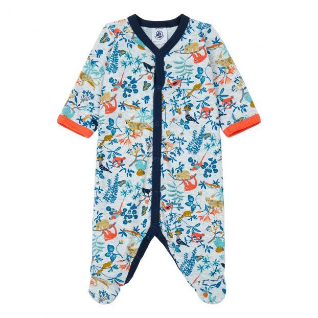 428cabf164fa1 Pyjama Benz Bleu Petit Bateau Mode Bébé