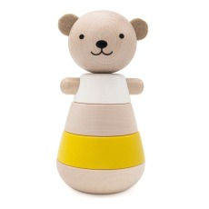 product-Briki Vroom Vroom Wooden jointed bear