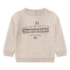 product-Emile et Ida Exclusive Emile et Ida x Smallable x Isetan - French Burger sweatshirt