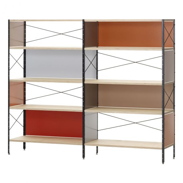 02e55259d70e8 Eames Storage Unit ESU, Shelf - 4 Shelves - Charles & Ray Eames, 1949  Multicoloured