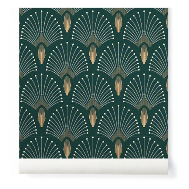 Papier Peint 1925 Vert Sapin