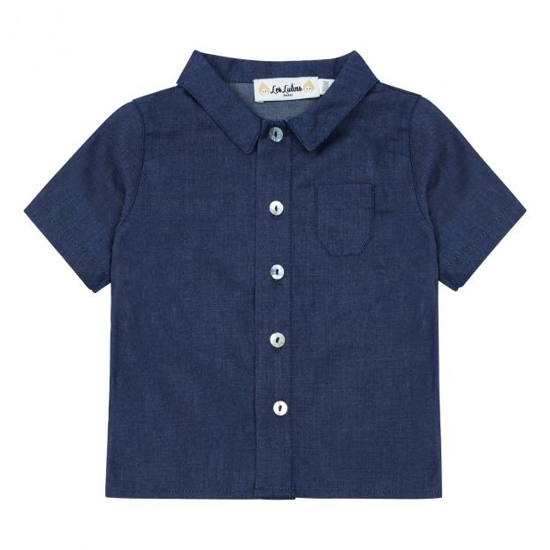 a09dee175 Marcel shirt Midnight blue Les lutins Fashion Baby